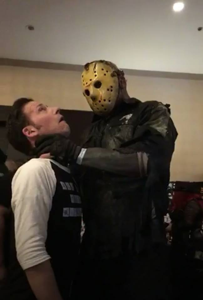 Monster Mania - Jason chokes Scott