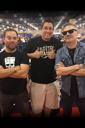 Matt with Monster Squad