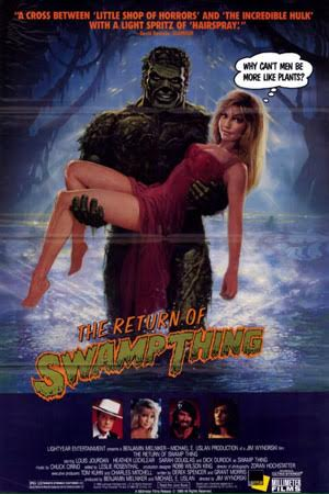 Return of the Swamp Thing (1989)