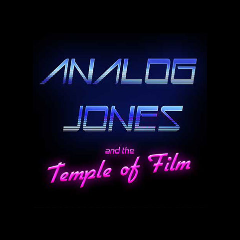 Analog Jones and the Temple of Film Logo